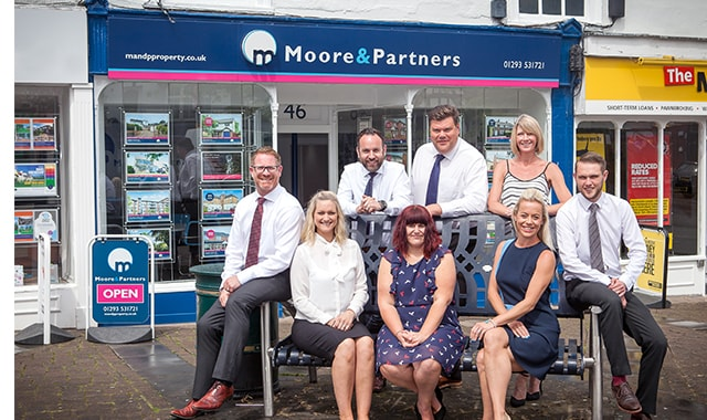 The Team at Moore and Partners Estate Agents in Crawley
